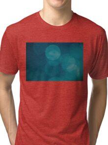 Blue green Tri-blend T-Shirt