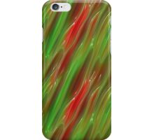 Red and Green Vinyl iPhone Case/Skin