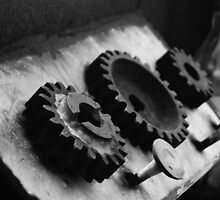 Cogs as knobs by LameyWorx