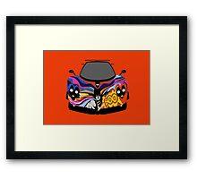 Pagani Zonda Bat Mobile Framed Print