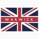 Warwick UK Flag			 by FlagCity