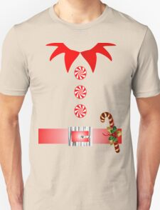 cute cartoon merry christmas elf costume Unisex T-Shirt