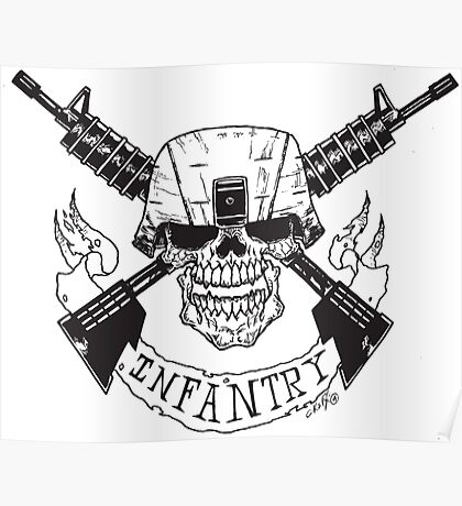 Infantry Poster