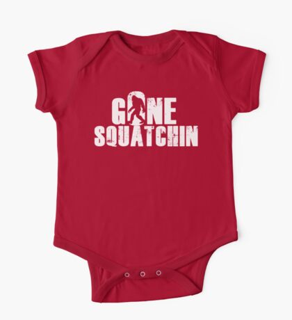 GONE SQUATCHIN' - Bigfoot Shirt One Piece - Short Sleeve