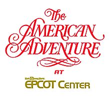 The American Adventure at Epcot Center Photographic Print
