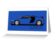 Audi R8 LMX Greeting Card