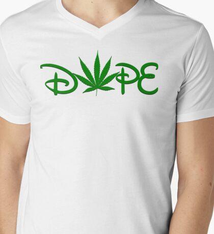 Bisney Dope Mens V-Neck T-Shirt