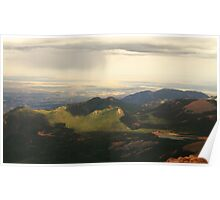 A View From Pikes Peak Poster