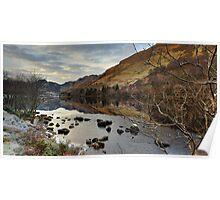 Llyn Crafnant - Winter dawn Poster