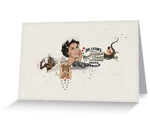 POLVO DE CORONA Greeting Card