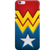 Wonderwoman logo iPhone Case/Skin
