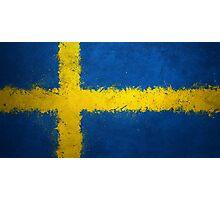 Sweden - Magnaen Flag Collection 2013 Photographic Print