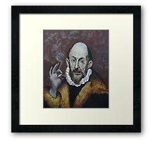 Old Smoke Framed Print