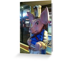 Spicy Pig Greeting Card