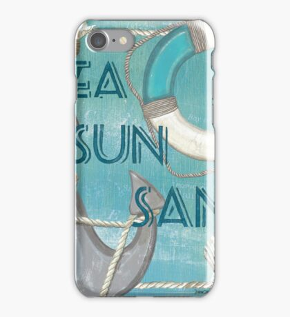 Sea and Shore 1 iPhone Case/Skin