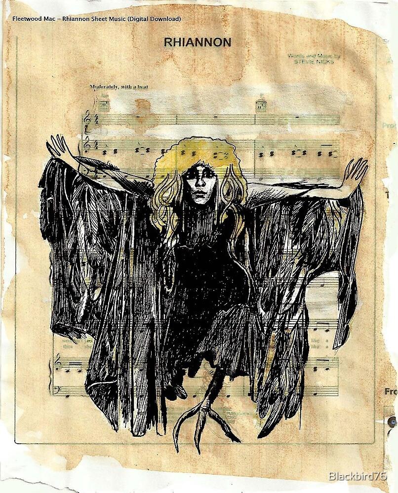 Rhiannon print by Blackbird76