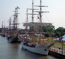 Bay City Tall Ship Celebration (2010) - East Bank by Francis LaLonde