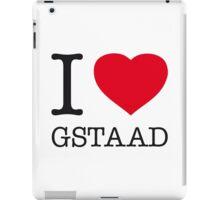 I ♥ GSTAAD iPad Case/Skin