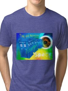 TARDIS Time and Relative Dimension in Space Tri-blend T-Shirt