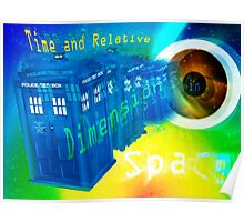 TARDIS Time and Relative Dimension in Space Poster