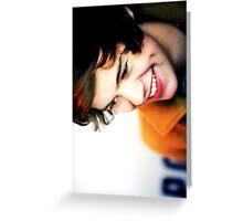 Harry Styles Poster Greeting Card