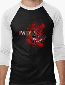 RWBY- Ruby Rose Men's Baseball ¾ T-Shirt
