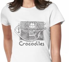 I LOVE CROCODILES T-shirt Womens Fitted T-Shirt