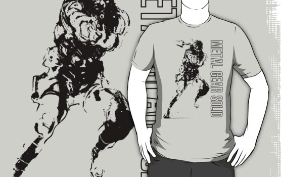 Metal Gear Solid- Snake Shirt by TheDorknight