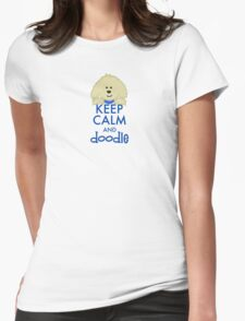 Keep Calm and Doodle - Goldendoodle T-Shirt