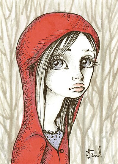 Little Red Riding Hood by tanyabond