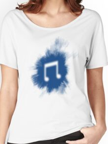 Vinyl splat Women's Relaxed Fit T-Shirt