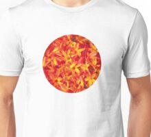 Orange flowers Unisex T-Shirt