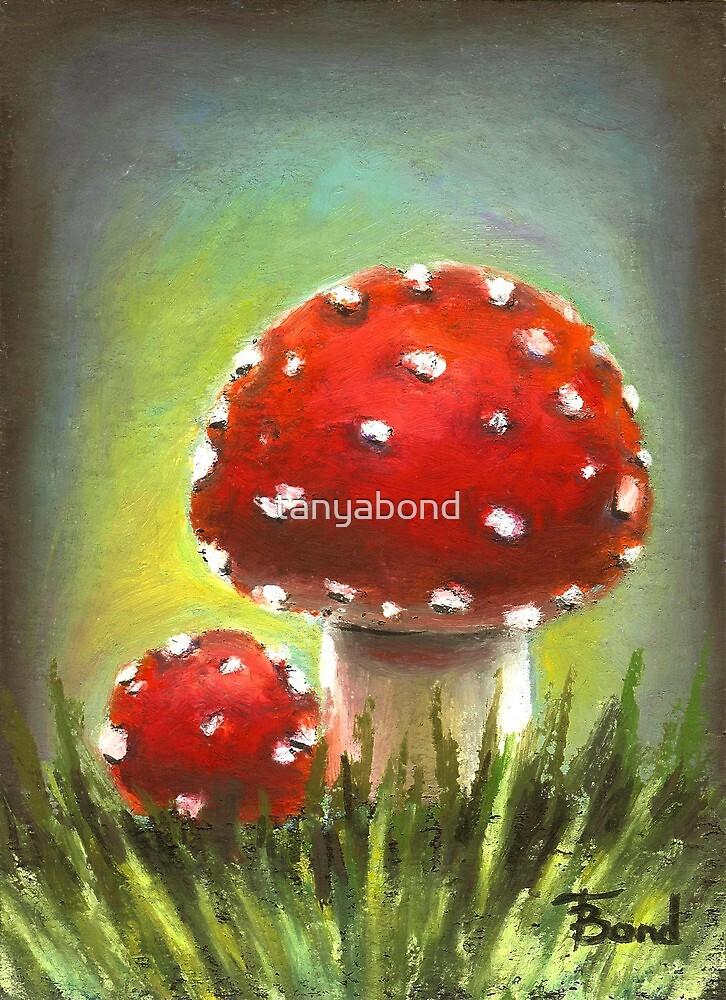 Mushrooms by tanyabond