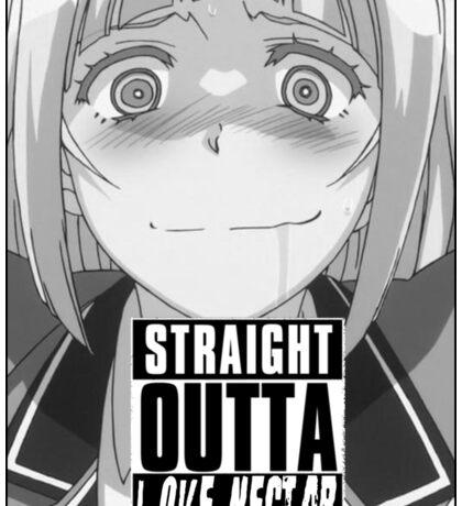 "Shimoneta - ""Straight Outta Love Nectar"" Sticker"