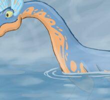 Lake Creature Sticker