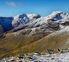 Scafell range from Three Tarns by Martin Lawrence