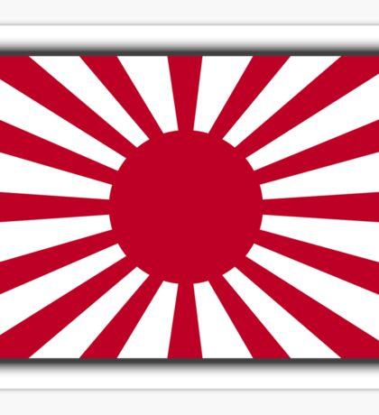 JAPAN, Imperial, Japanese, Army, War flag, WWII, Nippon, Kamikaze Sticker