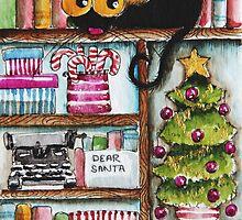 Christmas spirit by StressieCat