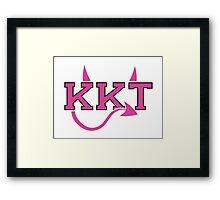 KKT Sorority Framed Print