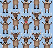 Reindeer by Ben Farr