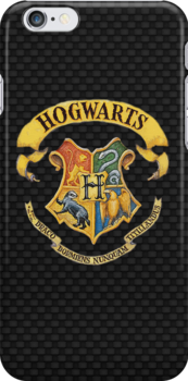 Harry Potter Hogwarts Case ( Black) by LostKittenClub