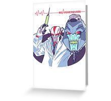 Transformers Prime Reanimator mashup ReAtchetmator Greeting Card