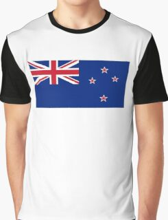 New Zealand, New Zealand Flag, Flag of New Zealand, Pure & Simple Graphic T-Shirt