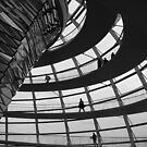 Die  Reichstagskuppel by James Hennman