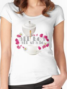 All Tea, All Shade Women's Fitted Scoop T-Shirt