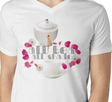 All Tea, All Shade Mens V-Neck T-Shirt
