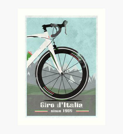 GIRO D'ITALIA BIKE Art Print