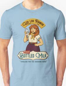 Legend of Zelda - Lon Lon Ranch Finest Bottled Milk Unisex T-Shirt