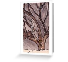 Stag and Robin Meet Greeting Card