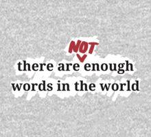 Words (Colour-agnostic) by pospreterito